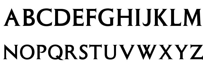 OPTIColumna-Solid Font Litere mari