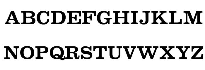 OPTICraw-Clarendon Font UPPERCASE