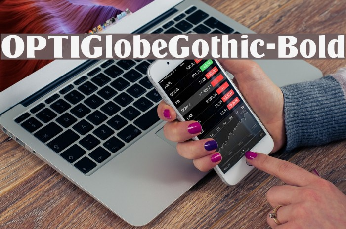 OPTIGlobeGothic-Bold फ़ॉन्ट examples