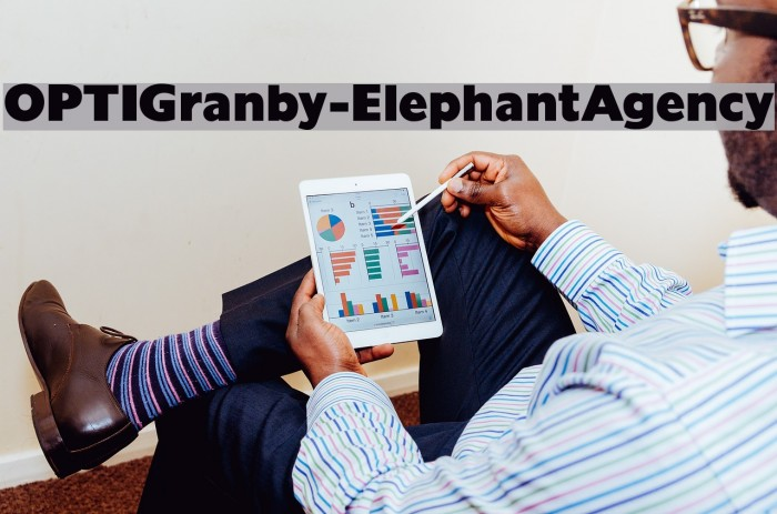 OPTIGranby-ElephantAgency Fonte examples
