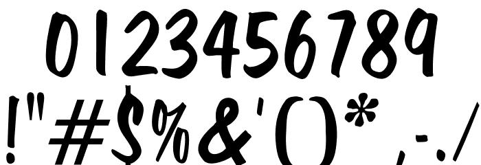 OPTIHavana Font OTHER CHARS