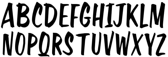 OPTIHavana Font UPPERCASE