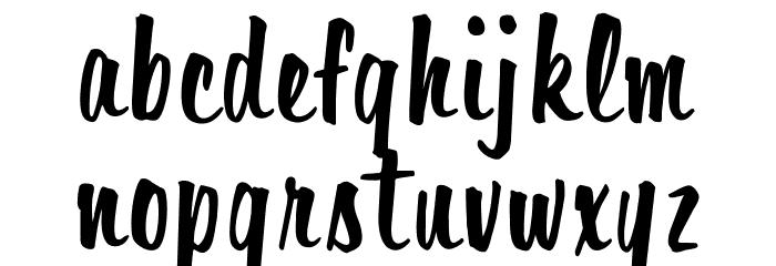OPTIHavana Font LOWERCASE