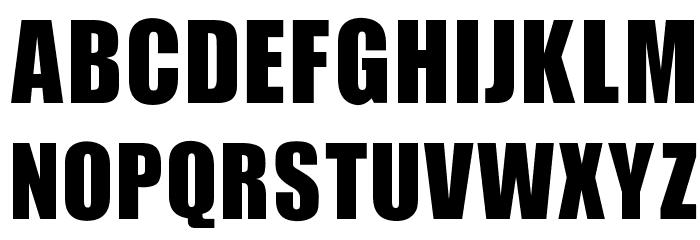 OPTIIgnite Font UPPERCASE