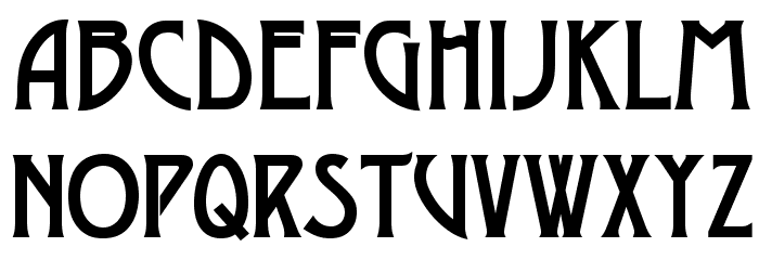 OPTILago-Caps Font LOWERCASE