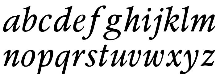 OPTIPeach-Italique Шрифта строчной
