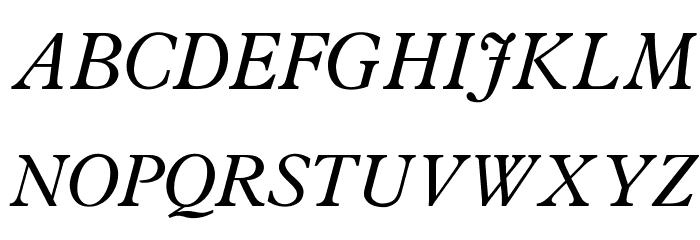 OPTIPlanet-Italic Fonte MAIÚSCULAS