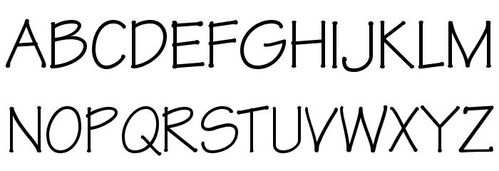 OPTIRipple-Regular Font UPPERCASE