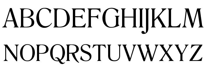 OPTIRomanaRoman-Normal Font UPPERCASE