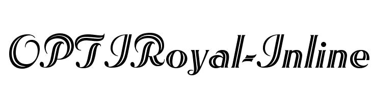 OPTIRoyal-Inline  baixar fontes gratis