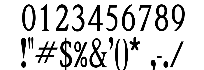 OPTIShawmut-Special Font OTHER CHARS