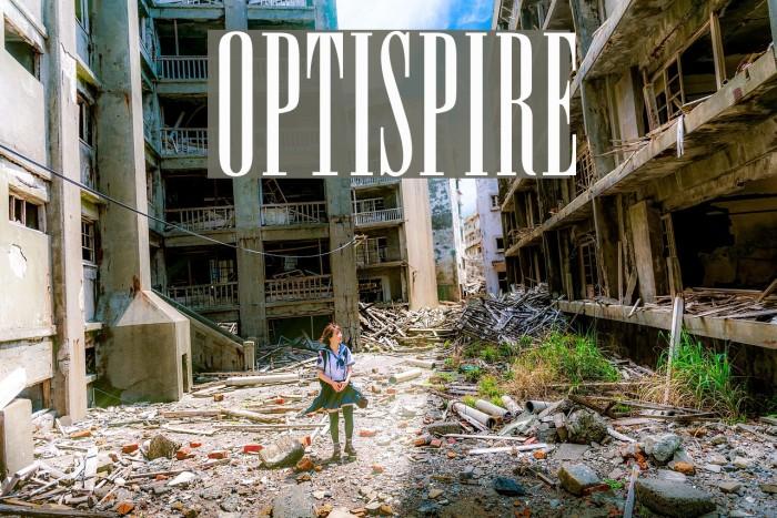 OPTISpire Font examples