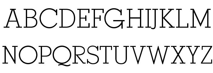OPTIStymie-Light Font UPPERCASE