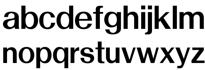 OPTISwiss-NoThree Font LOWERCASE