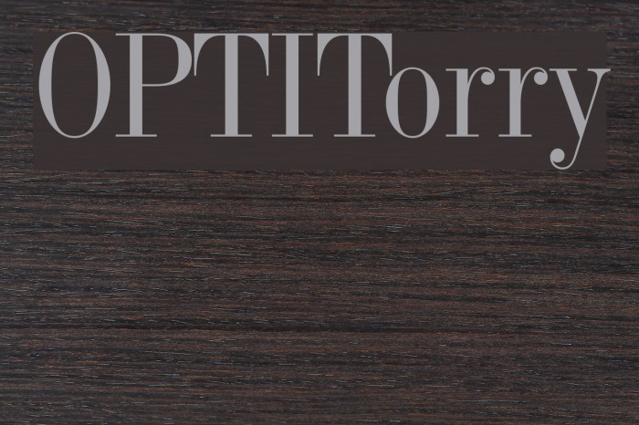 OPTITorry Font examples