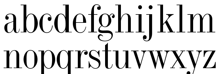 OPTITorry Font LOWERCASE