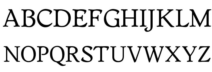 OPTIWorcester-RoundSL Font UPPERCASE