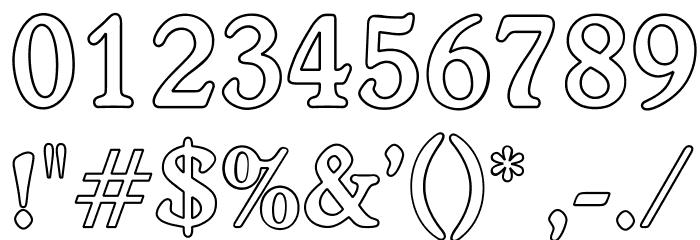 OPTIWorcester-RoundSLBold-Out لخطوط تنزيل حرف أخرى