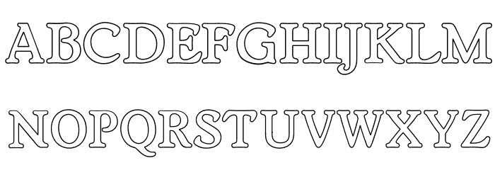 OPTIWorcester-RoundSLBold-Out لخطوط تنزيل الأحرف الكبيرة