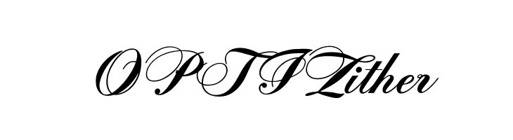 OPTIZither  Free Fonts Download
