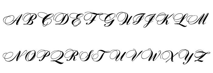 OPTIZither Font Litere mari