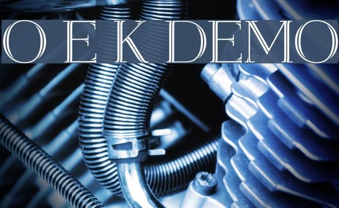 Open Egmont Kapitalen [DEMO] Font examples