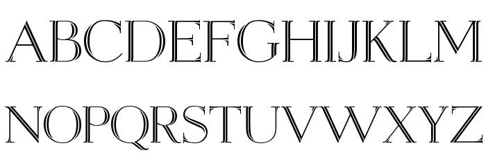 Open Egmont Kapitalen [DEMO] Font LOWERCASE