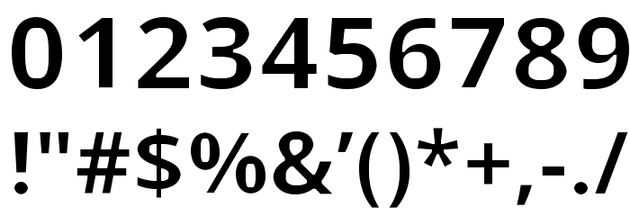 Open Shqip Sans Font OTHER CHARS