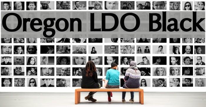Oregon LDO Black Fonte examples