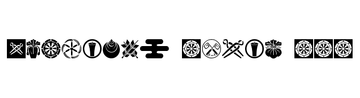 Oriental Icons III  Free Fonts Download