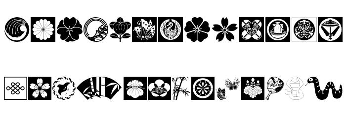 OrientalDesign Шрифта строчной