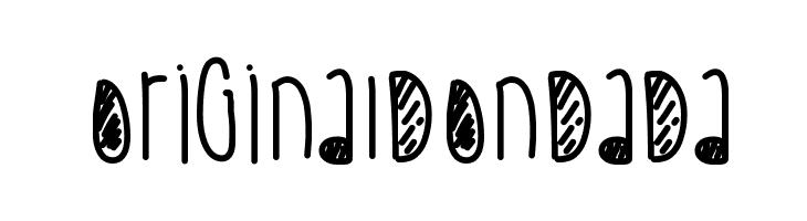 OriginalDonDada  Скачать бесплатные шрифты