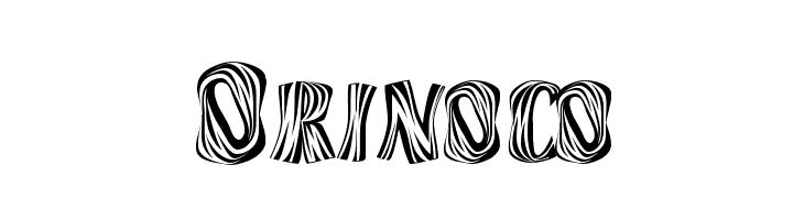 Orinoco  Free Fonts Download