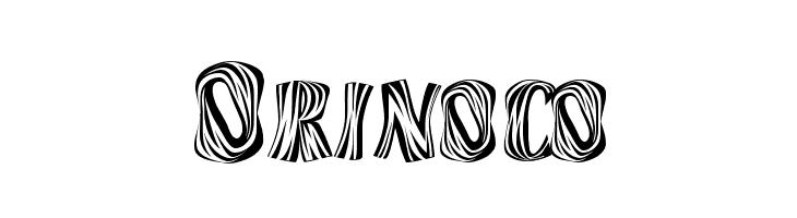 Orinoco  नि: शुल्क फ़ॉन्ट्स डाउनलोड