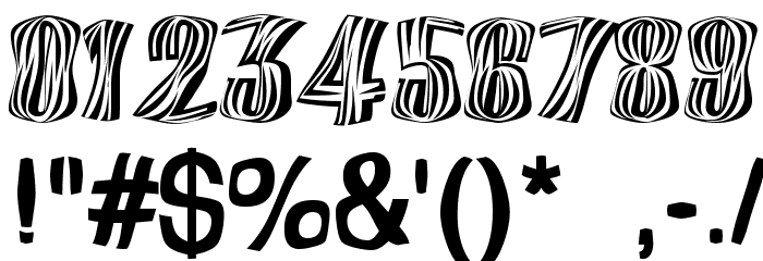 Orinoco Font OTHER CHARS