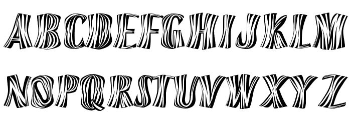 Orinoco Font UPPERCASE