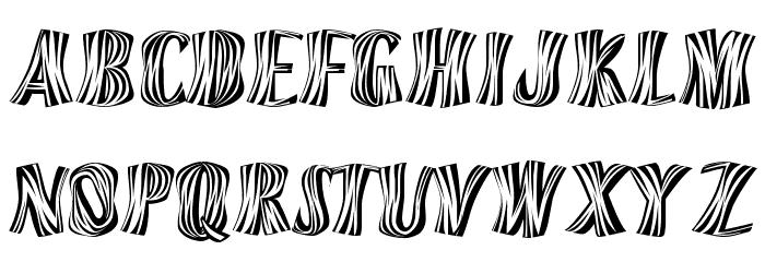 Orinoco Font LOWERCASE