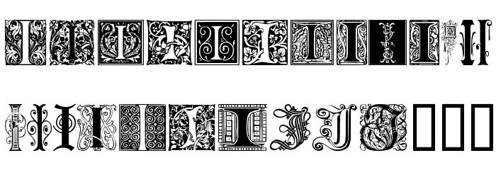 ornamental initials i font