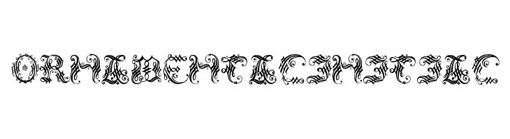 OrnamentalInitial  font caratteri gratis