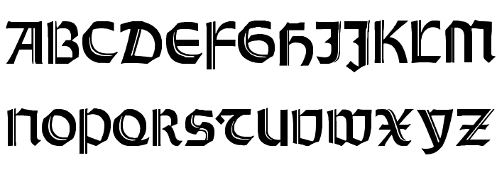 Orotund Capitals Heavy Font Download - free fonts download