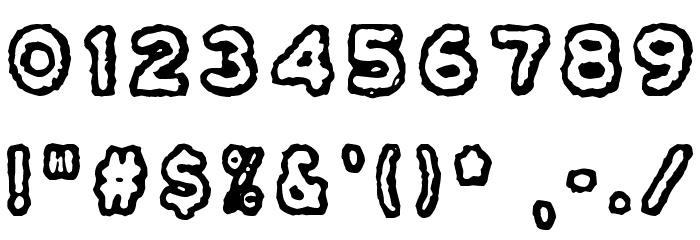 Osasto 329 suljettu Font OTHER CHARS