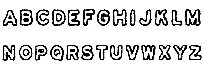 Osasto 329 suljettu Font LOWERCASE