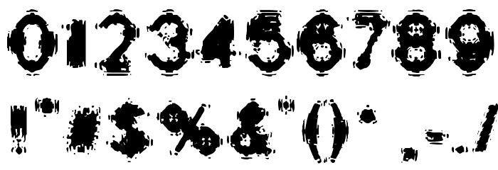 Oscillate Regular لخطوط تنزيل حرف أخرى
