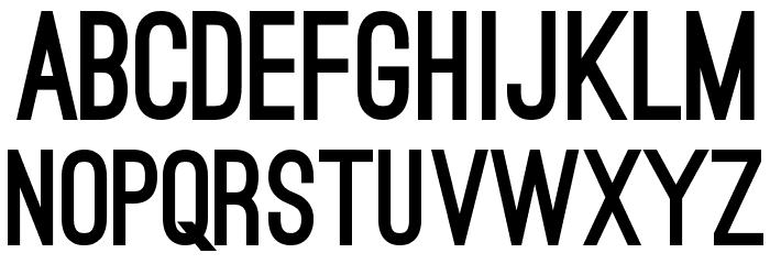 Ostrich Sans Black Font UPPERCASE