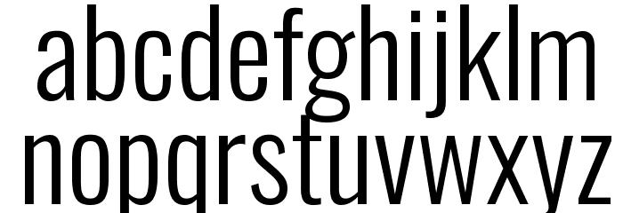 Oswald Light Font LOWERCASE