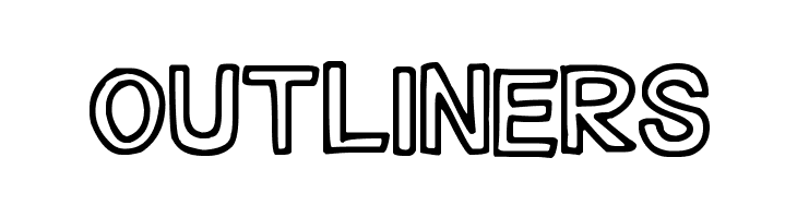 Outliners  Free Fonts Download