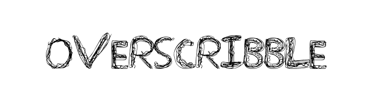 OverScribble  Free Fonts Download