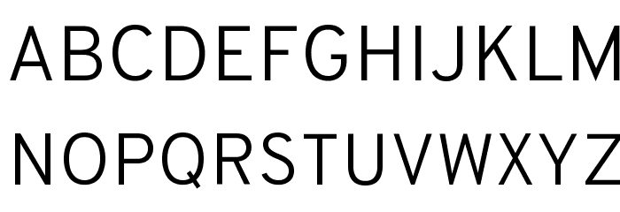 Overpass Light Font UPPERCASE