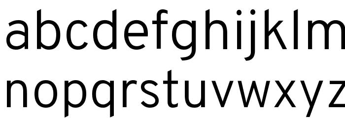 Overpass Light Font LOWERCASE