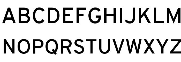 Overpass-Reg Font UPPERCASE